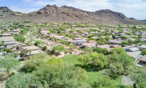 Peoria Homes in WestWing Mountain