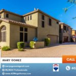 Beautiful North Phoenix 3 bedroom 2-story home in a Gated Community